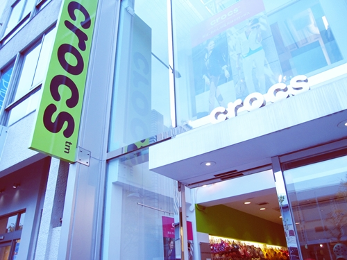 crocs aoyama shop