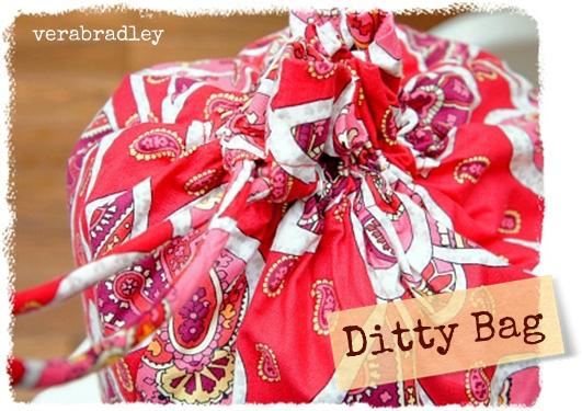 VeraBradley Ditty Bag ディティーバッグ