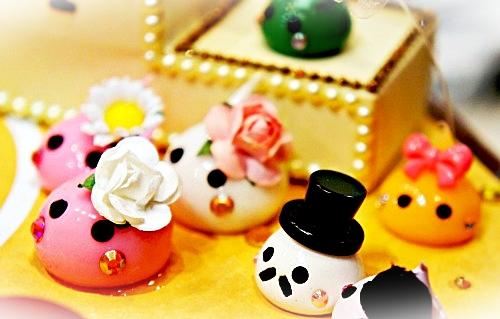 サン宝石 ほっぺちゃん ストラップ&デコパーツ