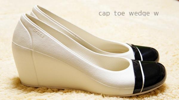 cap toe wedge w キャップトゥ ウェッジ ウィメン