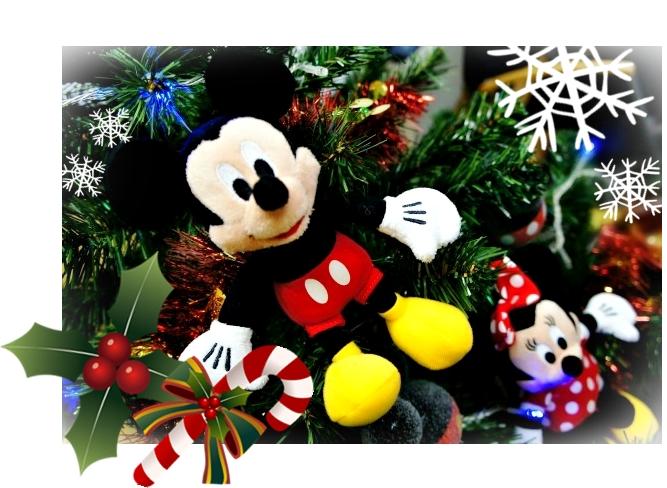 ディズニーぬいぐるみ オーナメント クリスマスツリー