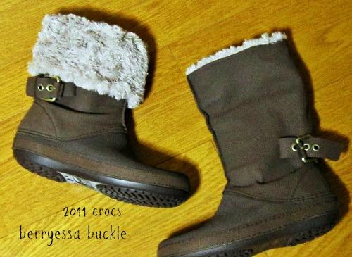 クロックス ベリエッサバックル 2011秋冬 ブーツ