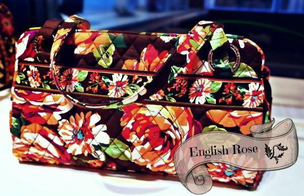 English Rose ヴェラブラッドリー2012年冬コレクション イングリッシュローズ