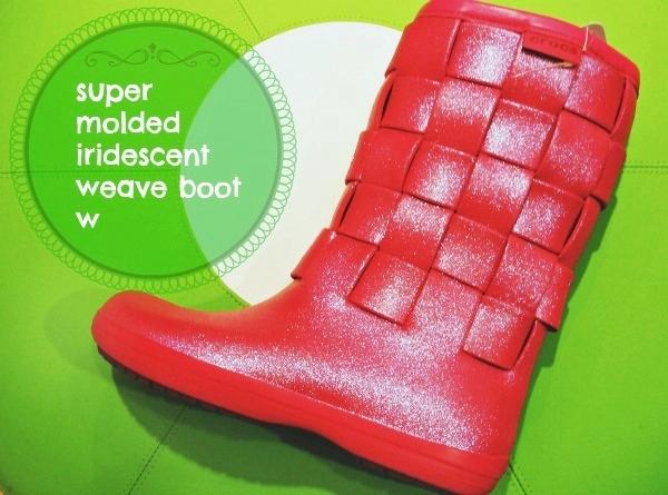super molded iridescent weave boot w スーパー モールデッド イリディセント ウィーブ ブーツ ウィメンズ
