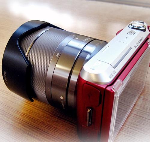 8デジタル一眼SONY NEX-C3