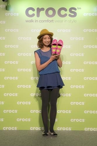クロックス05FW2013_東原亜希さんトークショー