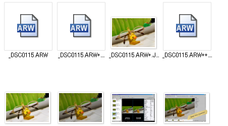6sony Image Data Converter(イメージ データ コンバーター)