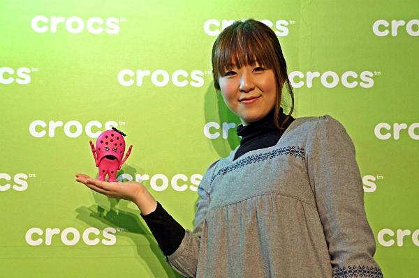 crocs12クロックス2013秋冬 展示会場