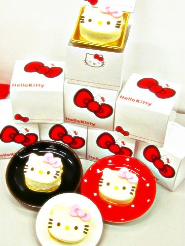 キティーちゃんミニチーズケーキ
