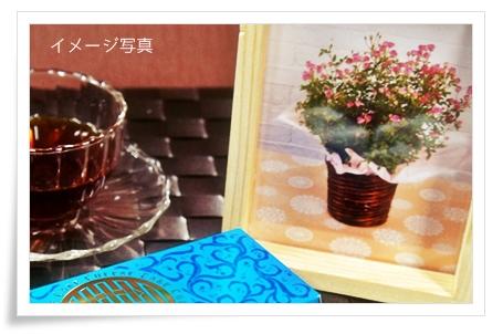 4春秋花咲くプチローズ&資生堂パーラーチーズケーキ
