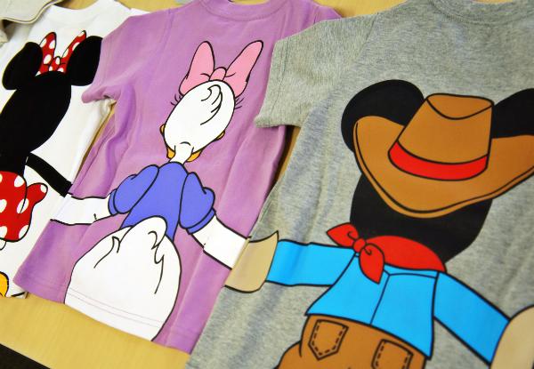 ベルメゾン ディズニー つながるTシャツ1