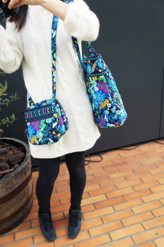 vera bradley with friend
