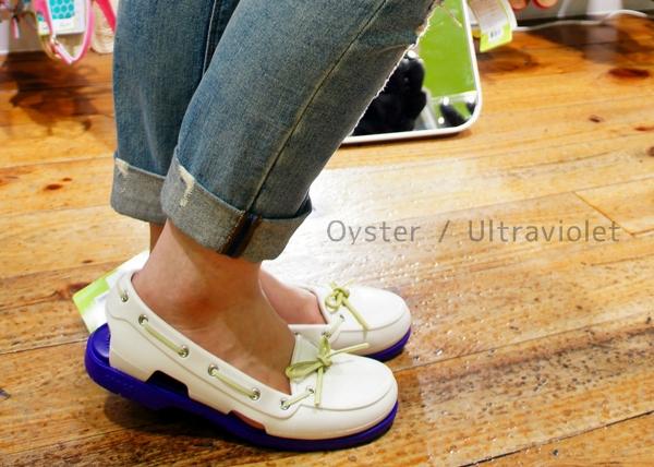 ビーチライン クロックス beach line boat shoe w