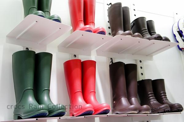 クロックス 長靴 レインブーツコレクション