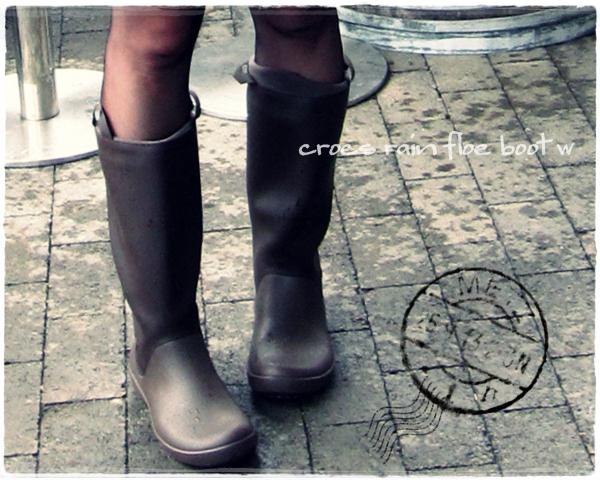 クロックス rain floe boot w レインフロー ブーツ ウィメンズ