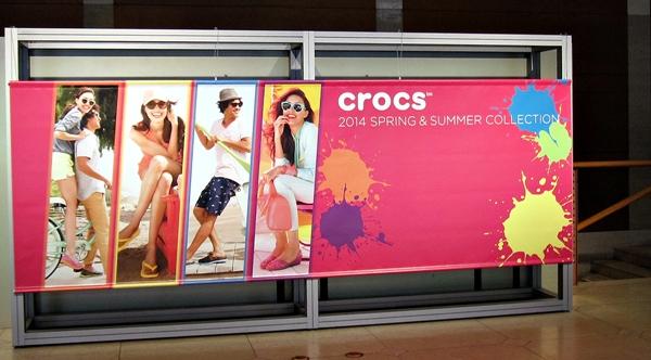 クロックス2014春夏展示会 恵比寿ガーデンプレイス