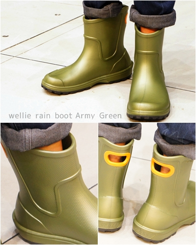 wellie rain boot ウェリー レインブーツ