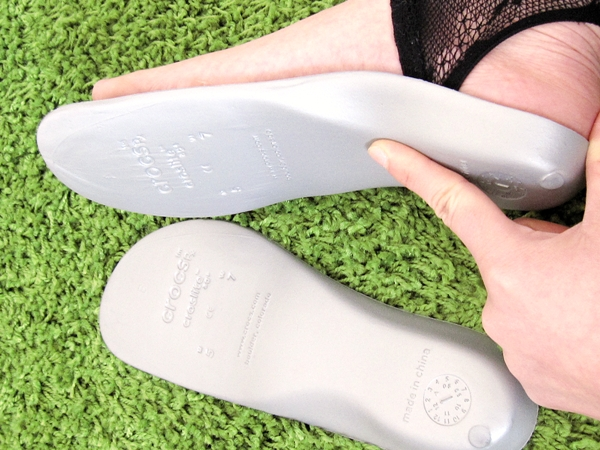 silversoft insole シルバーソフト インソール