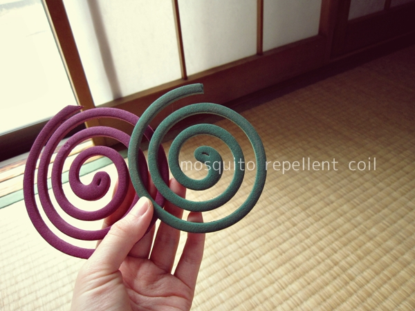 mosquito repellent coil 蚊取り線香