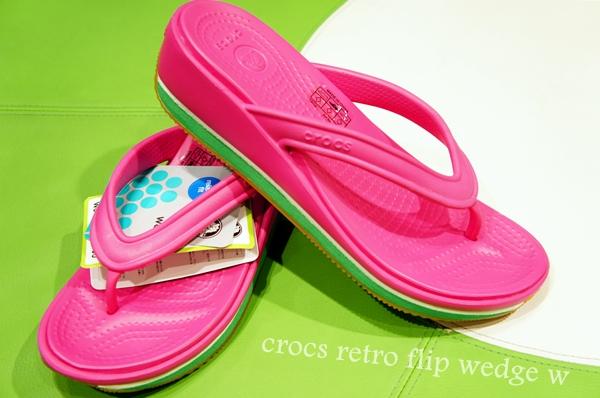 crocs retro flip wedge w クロックスレトロフリップウェッジ