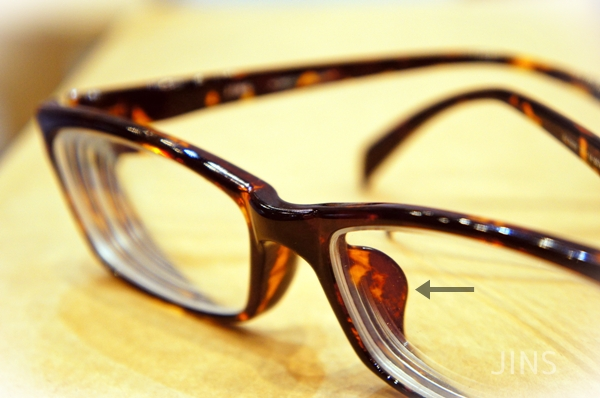 JINS眼鏡 エアフレーム