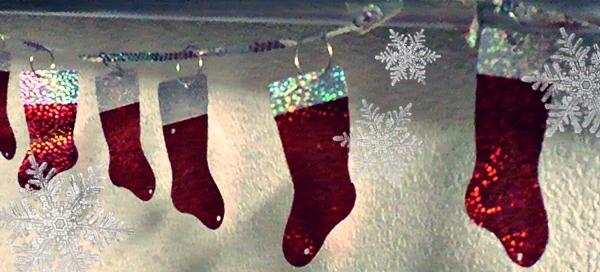クリスマスの靴下 ブーツデコレーション