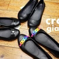 crocs gianna flat w クロックス ジアンナ フラット ウィメン
