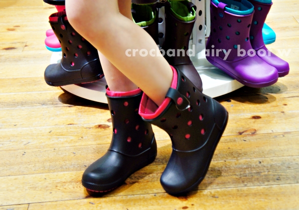 クロックス crocband airy boot w