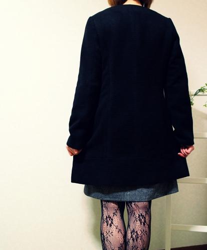 アンタイトル2014福袋 Aラインコート ノーカラー