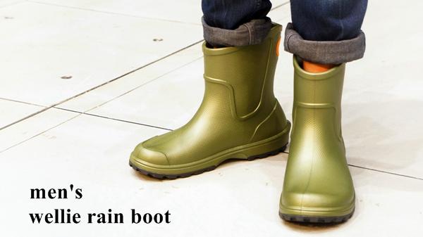 クロックス メンズ wellie rain boot ウェリー レインブーツ