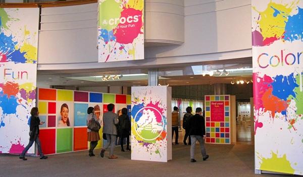 2014秋冬クロックス展示会