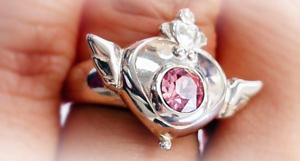 美少女戦士セーラームーンSuperS ブローチデザインリング silver925