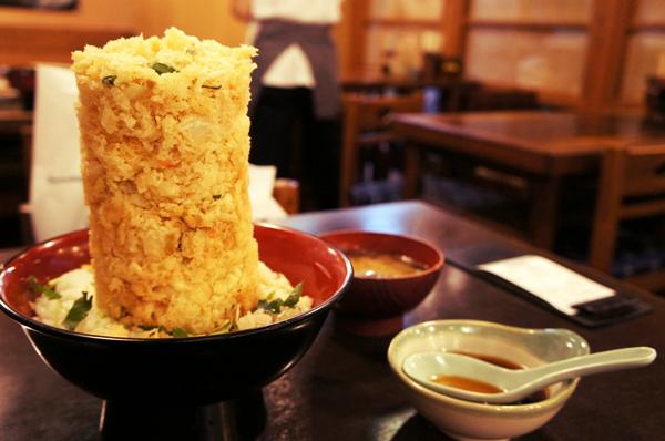 丸天 海鮮かき揚げ丼