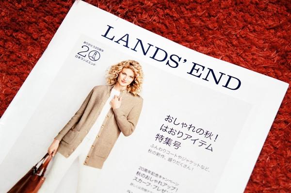 ランズエンド 秋号 カタログ