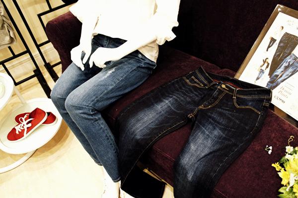 セシール アンドモア andmoi 2015夏 デニム コーデ