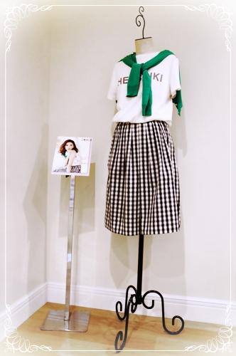 宮田聡子着用 フレンチガーリースタイル