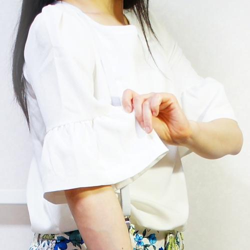 フィフス【fifth】【2015S/S】袖フレアトップス