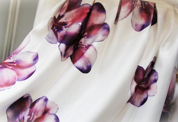 フィフス fifth 【2015S/S】ビッグフラワーミディスカート