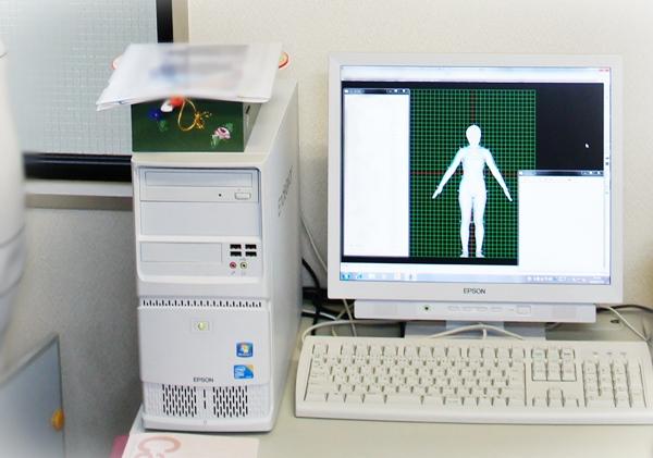ランズエンド 美型シルエット 計測ラボ 3Dスキャニング