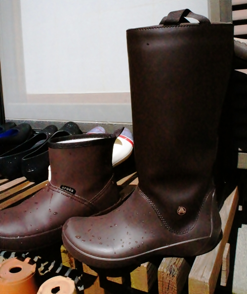 レインフローブーツウィメン クロックス長靴