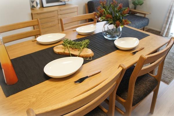 ベルメゾンデイズ オーク材のダイニングテーブル