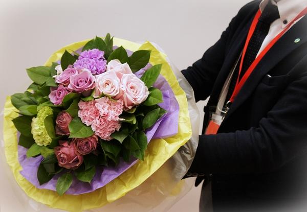 日比谷花壇 JANE PACKER 花束「ラベンダー カクテル」