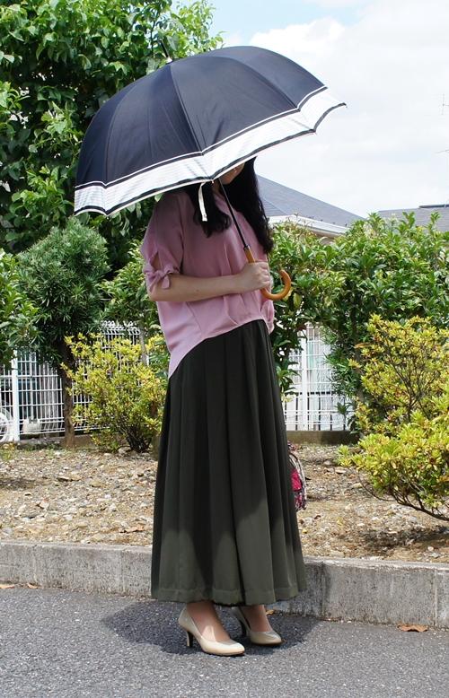 ベルメゾンデイズ 特殊二重張り 晴雨兼用傘 UV日傘