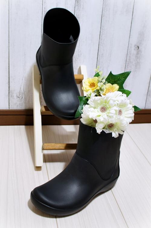 クロックス 長靴 レインブーツ レインフローブーティウィメン