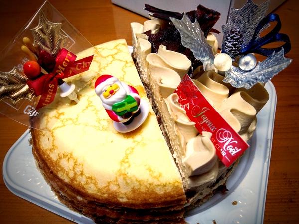 伊勢丹2015クリスマスケーキ 限定 モンサンクレール「ノエルネグレスコ 」 辻口シェフ