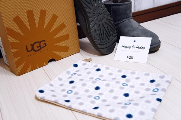 アグ UGG 会員特典 BE THE FIRST TO KNOW バースデーギフトプレゼント