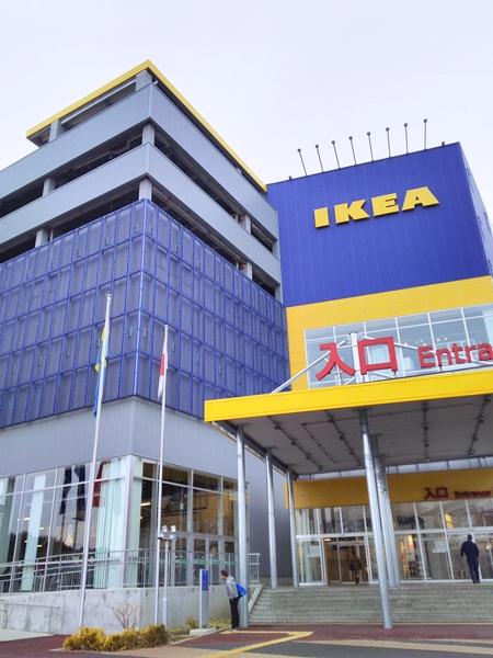 イケア立川 IKEA ショールーム 部屋レイアウト