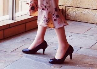 *足に優しい靴*のイメージ