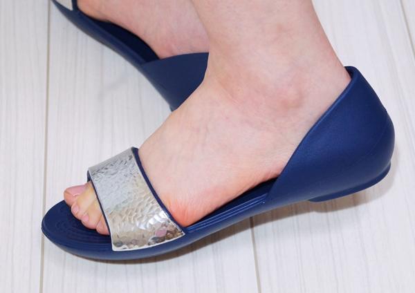 Women's Crocs Lina Embellished D'Orsay Flat クロックス リナ エンベリッシュド ドルセー ウィメン