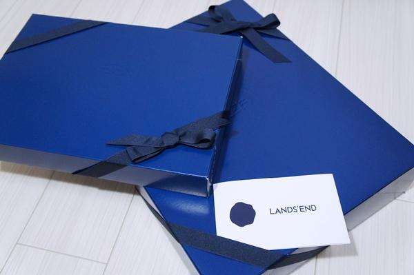 ランズエンド ギフトボックス ラッピング メッセージカード